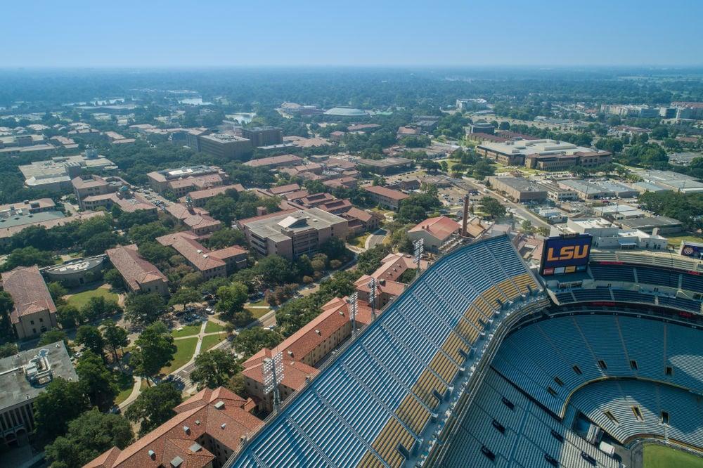 FILE - Louisiana State University main campus
