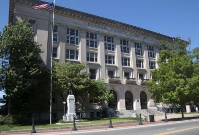 FILE - Durham County Courthouse North Carolina