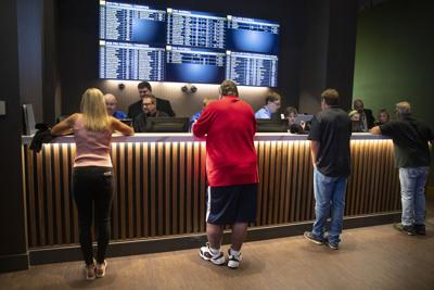 FILE - Indiana sports wagering