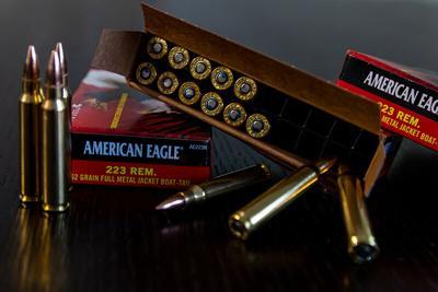 FILE - Ammunition