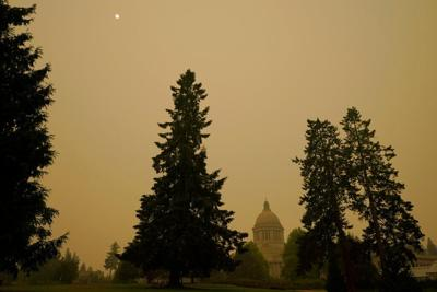 FILE — Olympia Pacific Northwest Wildfires