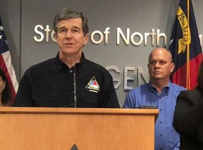 Tropical Weather North Carolina Governor