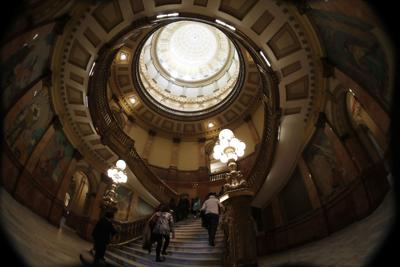 FILE - Colorado State Capitol rotunda