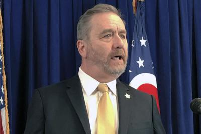 File-Ohio Attorney General Dave Yost speaks