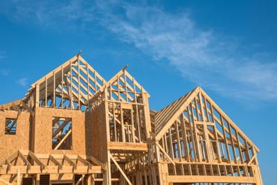 FILE - Texas home construction