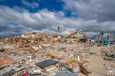 FILE Hurricane Michael wreckage 10-26-2018