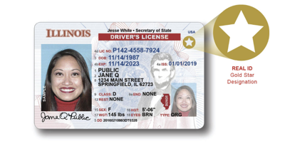 FILE - Illinois REAL ID