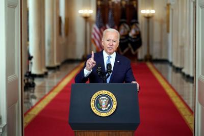 FILE - US Joe Biden 8-31-2021