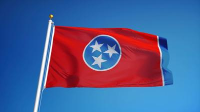FILE - Tennessee state flag