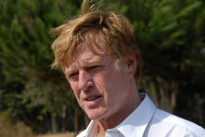 FILE - Actor Robert Redford