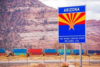 FILE - Welcome to Arizona