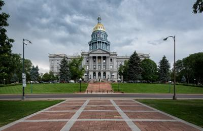 FILE - Colorado State Capitol building