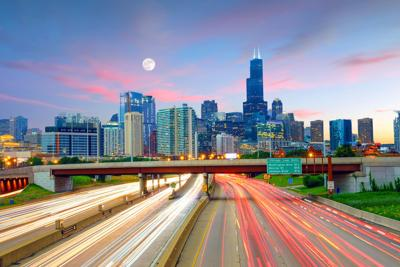 FILE - Chicago, Skyline