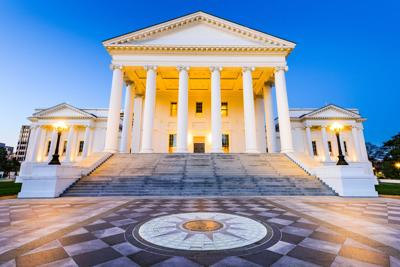 FILE - Virginia State Capitol