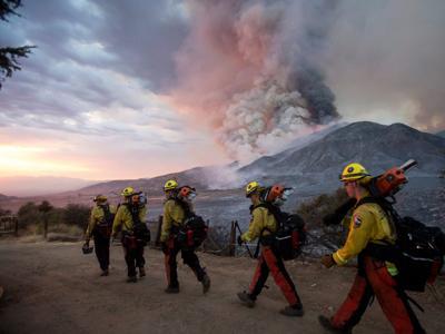 FILE — California Yucaipa Fire