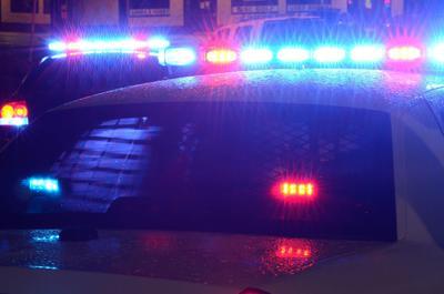 FILE - Police squad car, patrol car