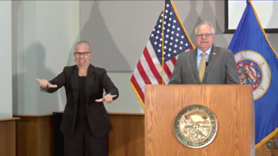 Gov. Tim Walz Sept. 3