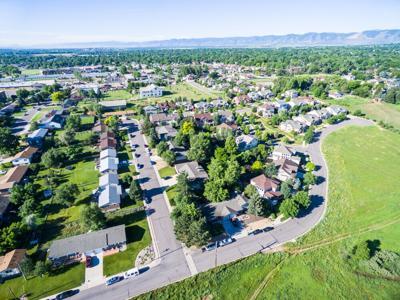 FILE - Colorado Residential Neighborhood