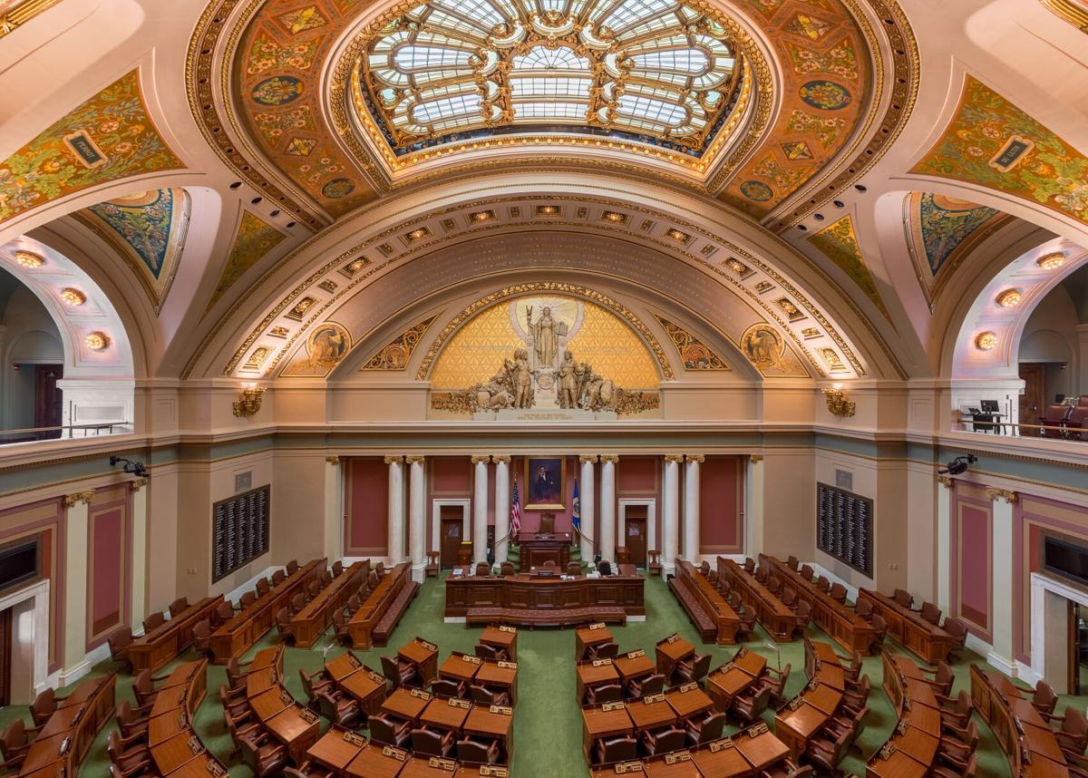 Saint Paul Capitol inside the House