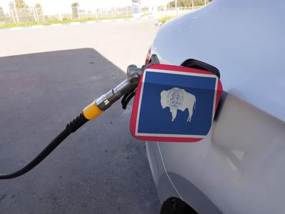 FILE - Wyoming Fuel Gas Station