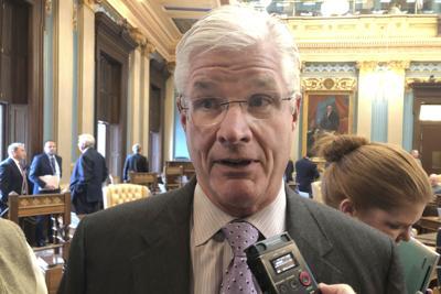 FILE - Michigan Senate Majority Leader Mike Shirkey