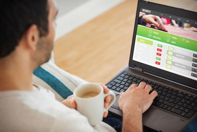 FILE - Online poker