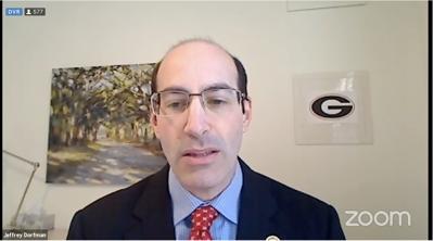 Georgia's State Fiscal Economist Jeffrey Dorfman