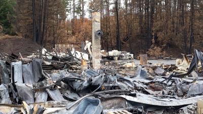 FILE —Oregon wildfire remains