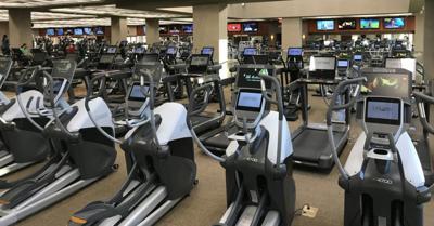 FILE - Gym, health club