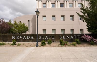 FILE - Nevada State Senate