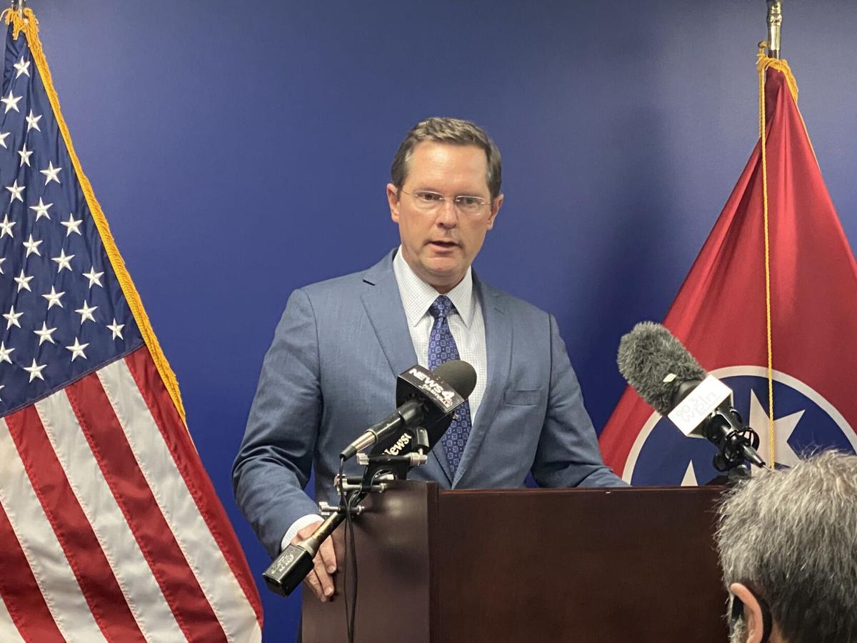 FILE - Tennessee House Speaker Cameron Sexton