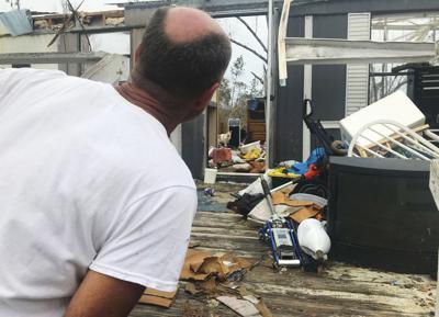 FILE - Hurricane Michael damage