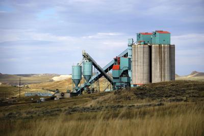 FILE - Wyoming Coal