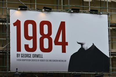 FILE - George Orwell 1984