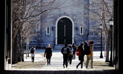 FILE - ME Bowdoin College 2-13-2012