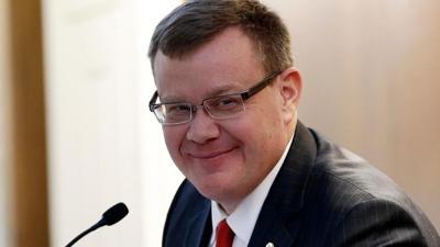 FILE - NC House Speaker Tim Moore