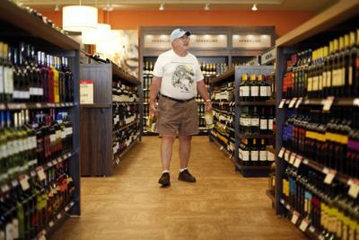 FILE - Pennsylvania Liquor Store
