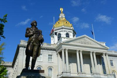 FILE - New Hampshire State Capitol