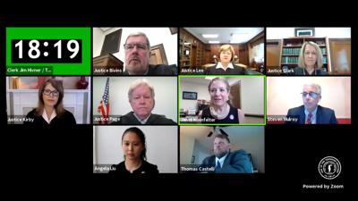Tennessee Supreme Court hears oral arguments via Zoom