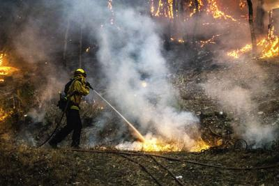 Cluster Of Destructive Wildfires Burn in Napa And Sonoma Counties
