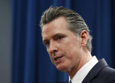 FILE - California Gov. Gavin Newsom