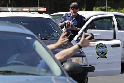 FILE —Washington police traffic stop