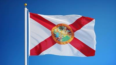 FILE - Florida state flag