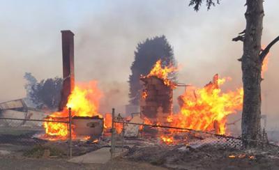 FILE —Washington Malden wildfire