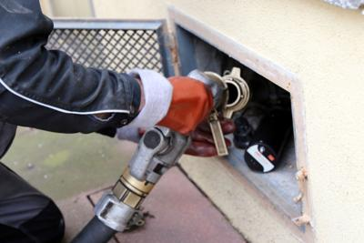 heating oil stock photo