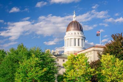 FILE - Maine Capitol