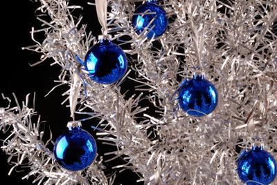 FILE - aluminum Christmas tree