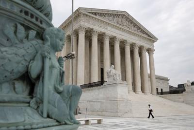FILE - United States Supreme Court