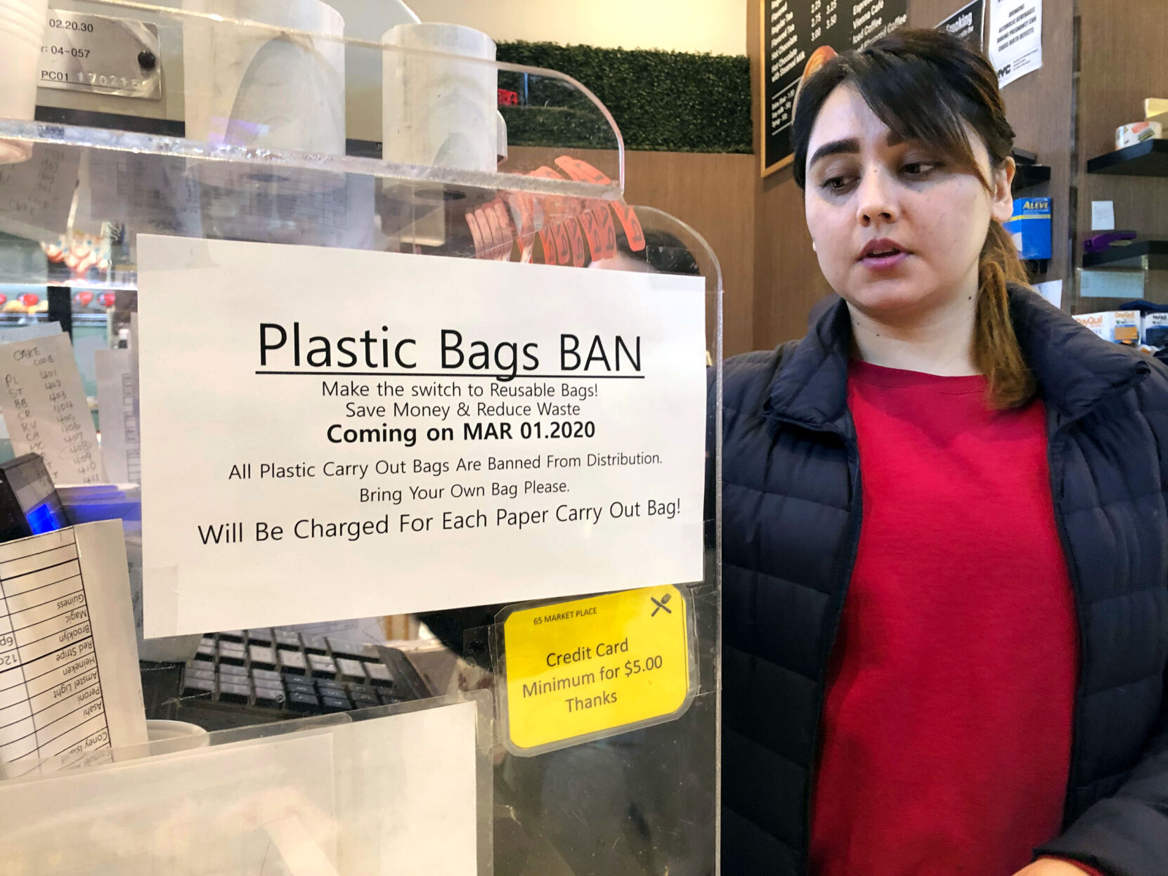 Court ruling paves way for New York's plastic bag ban enforcement