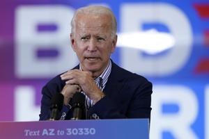Biden declares victory over Trump; White House says race isn't over
